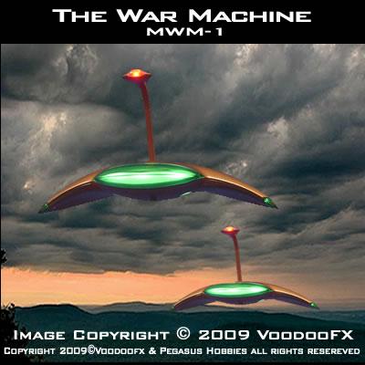 Hg Wells Martian War Machine Lighitng Kit